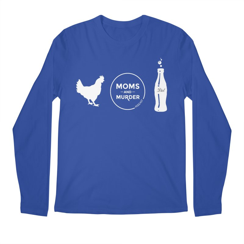 Chickens and Diet Coke Men's Regular Longsleeve T-Shirt by Moms And Murder Merch