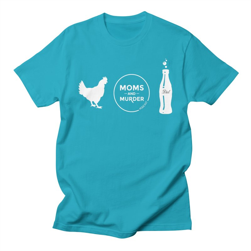 Chickens and Diet Coke Men's Regular T-Shirt by Moms And Murder Merch