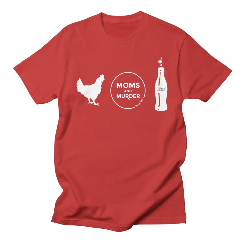 Chickens and Diet Coke Men's T-Shirt by Moms And Murder Merch