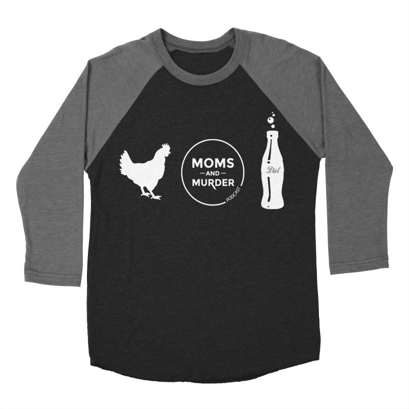 Chickens and Diet Coke Women's Baseball Triblend T-Shirt by Moms And Murder Merch