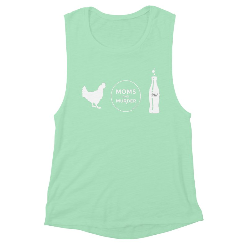 Chickens and Diet Coke Women's Tank by Moms And Murder Merch