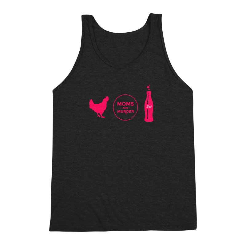 Chickens and Diet Coke Men's Triblend Tank by Moms And Murder Merch
