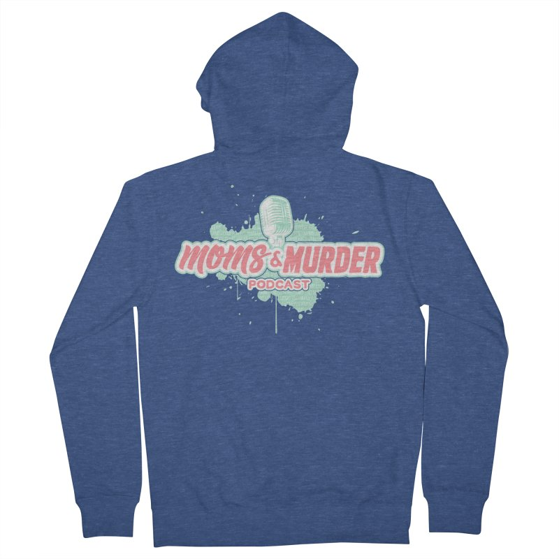 Moms & Murder Podcast by Mark Jones Men's Zip-Up Hoody by Moms And Murder Merch