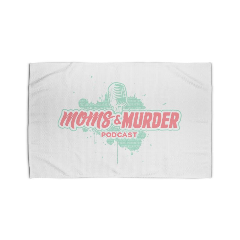 Moms & Murder Podcast by Mark Jones Home Rug by Moms And Murder Merch