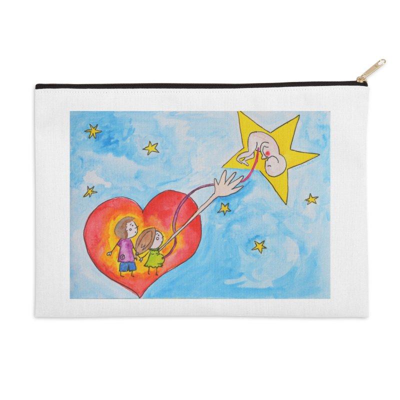 Little star Accessories Zip Pouch by Monera