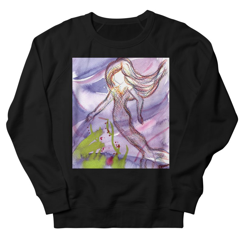 Deep under Women's Sweatshirt by Monera