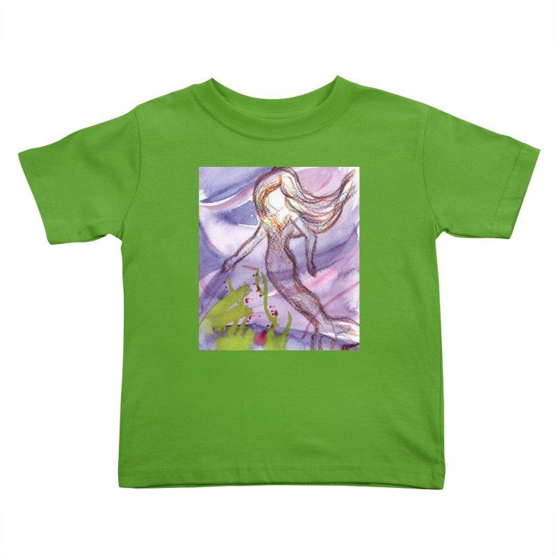 Deep under Kids Toddler T-Shirt by Monera