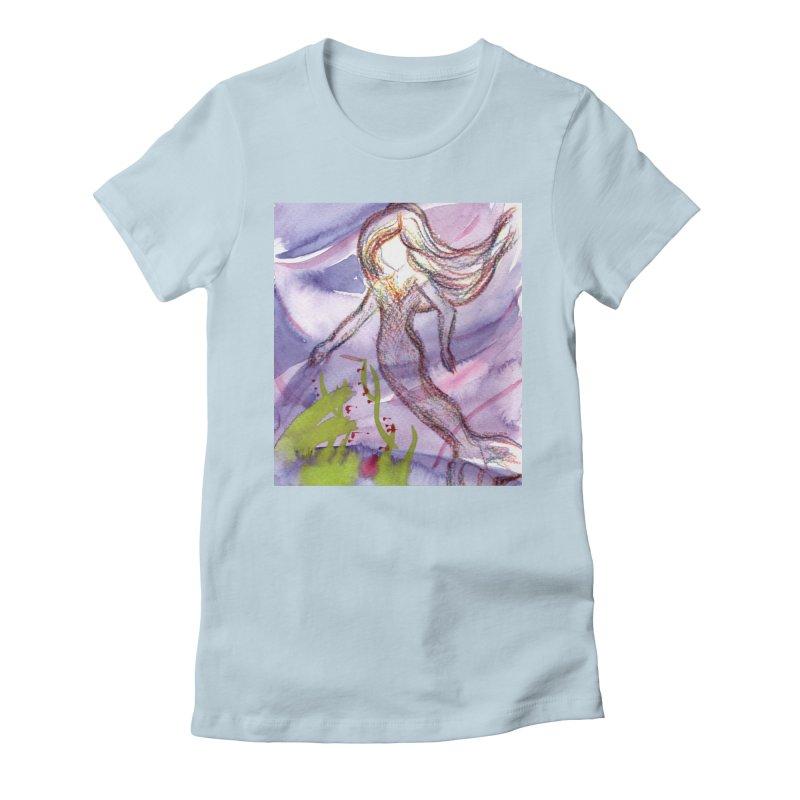 Deep under Women's T-Shirt by Monera