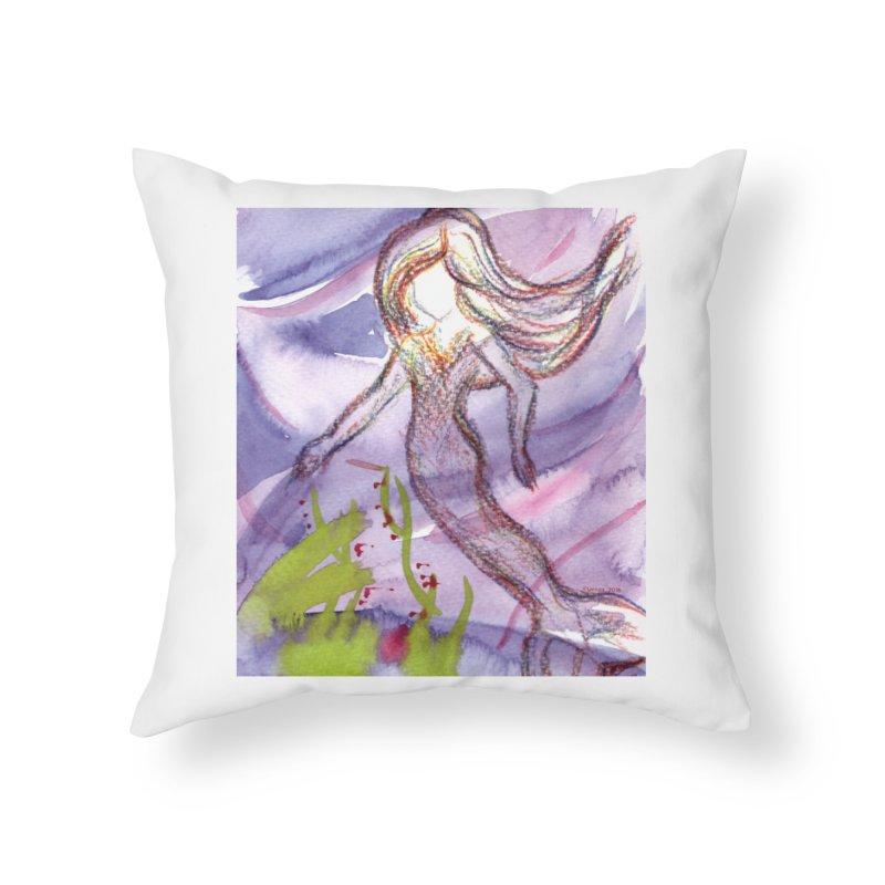 Deep under Home Throw Pillow by Monera