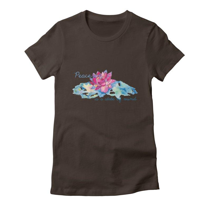 Peace Women's T-Shirt by Monera