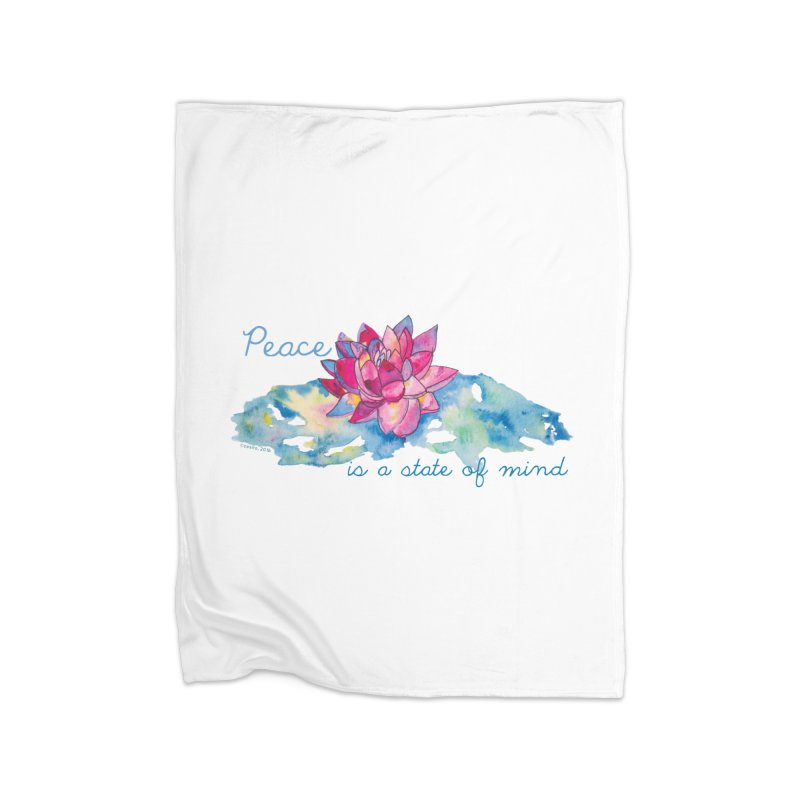 Peace Home Blanket by Monera