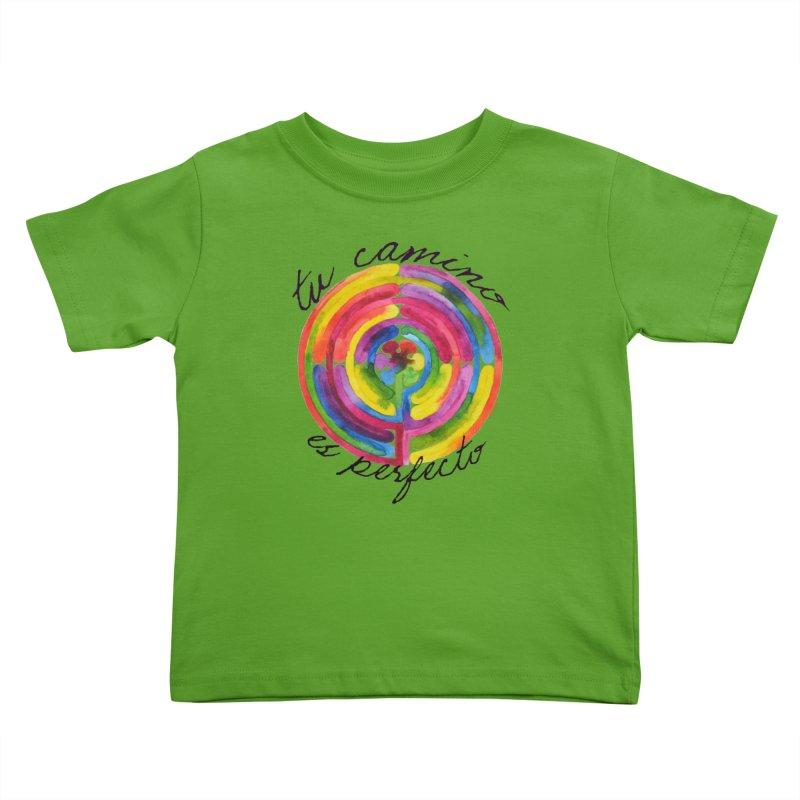 Camino Kids Toddler T-Shirt by Monera