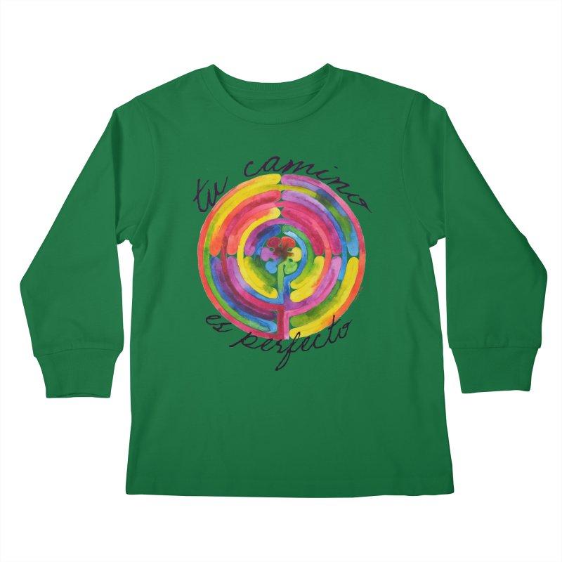 Camino Kids Longsleeve T-Shirt by Monera