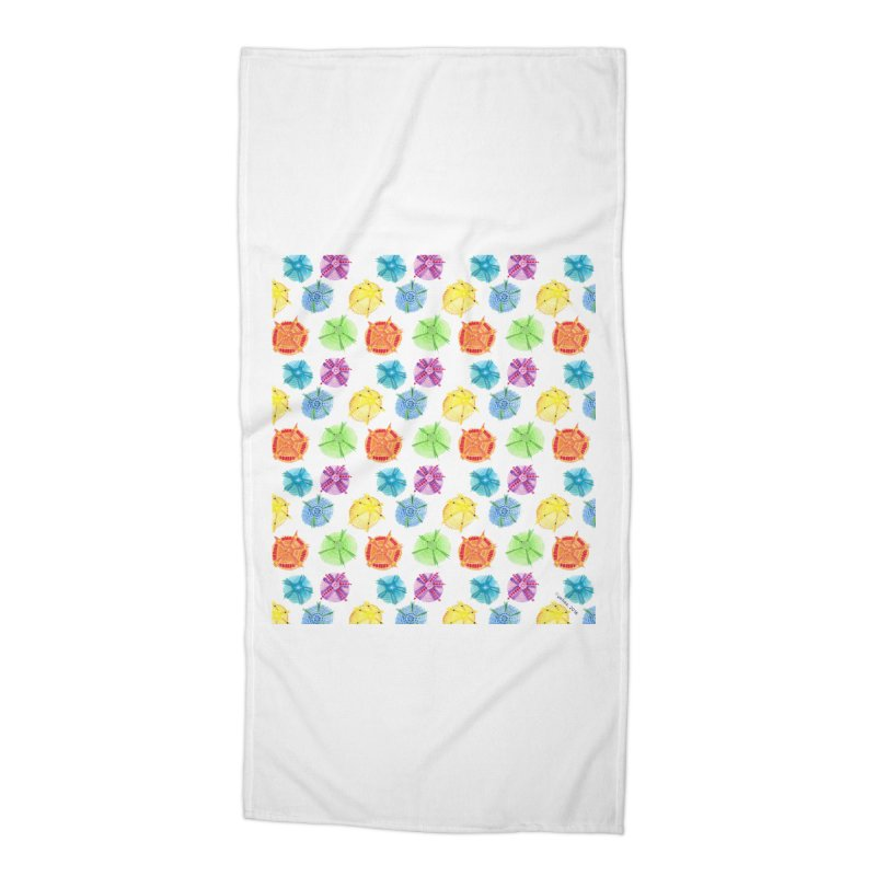Charms Accessories Beach Towel by Monera