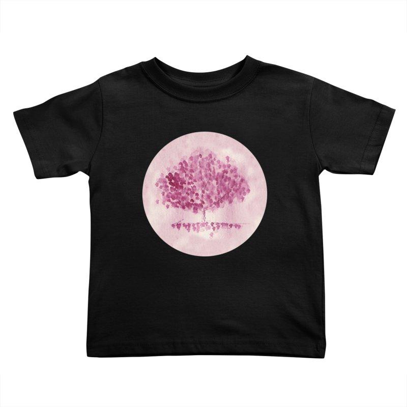 Sakura Kids Toddler T-Shirt by Monera