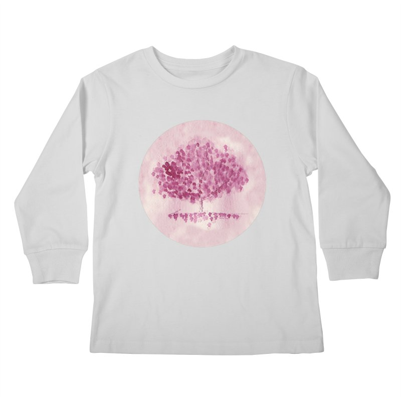 Sakura Kids Longsleeve T-Shirt by Monera