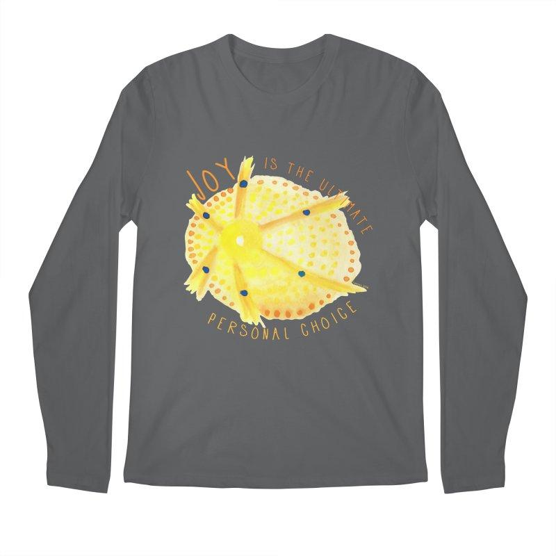Joy Men's Longsleeve T-Shirt by Monera