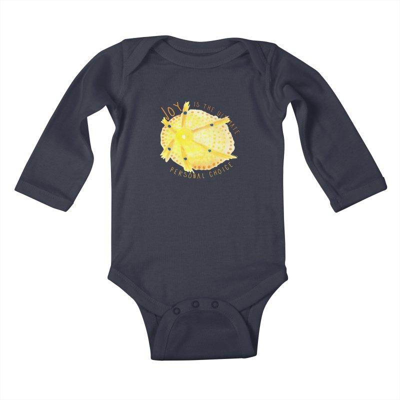 Joy Kids Baby Longsleeve Bodysuit by Monera