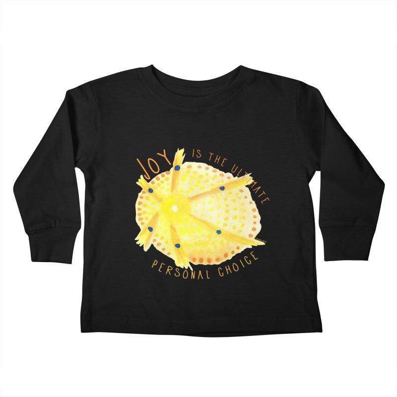 Joy Kids Toddler Longsleeve T-Shirt by Monera