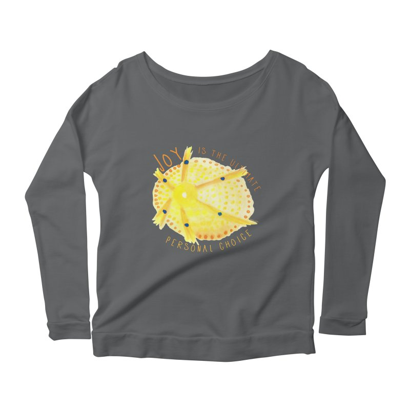 Joy Women's Longsleeve T-Shirt by Monera