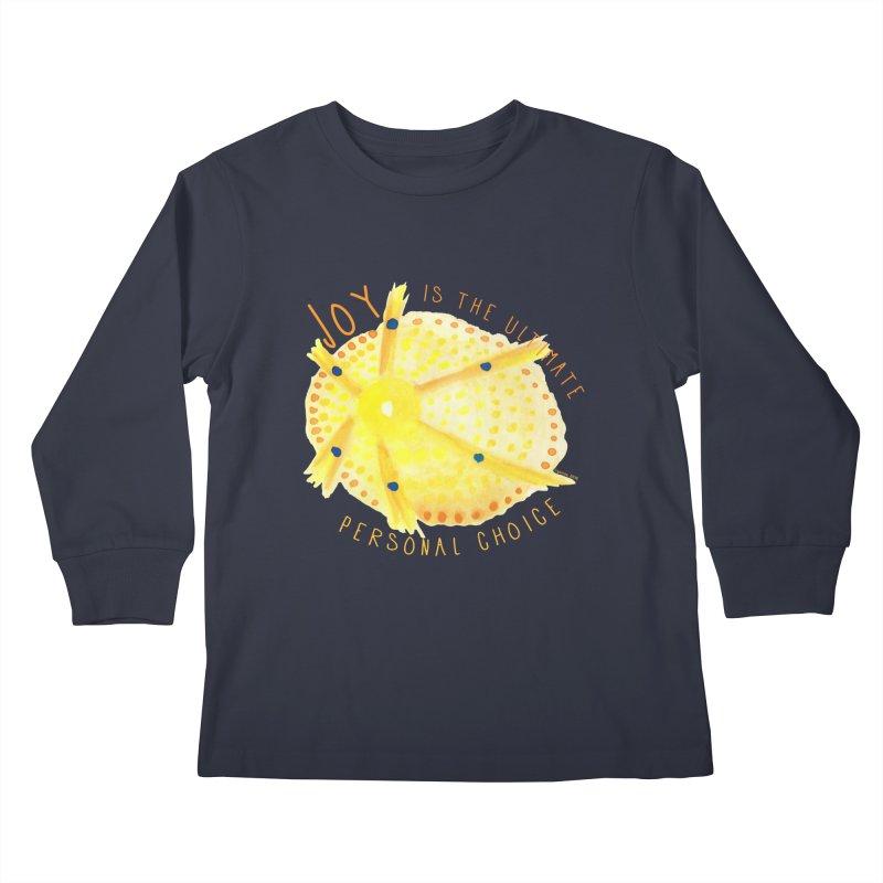 Joy Kids Longsleeve T-Shirt by Monera