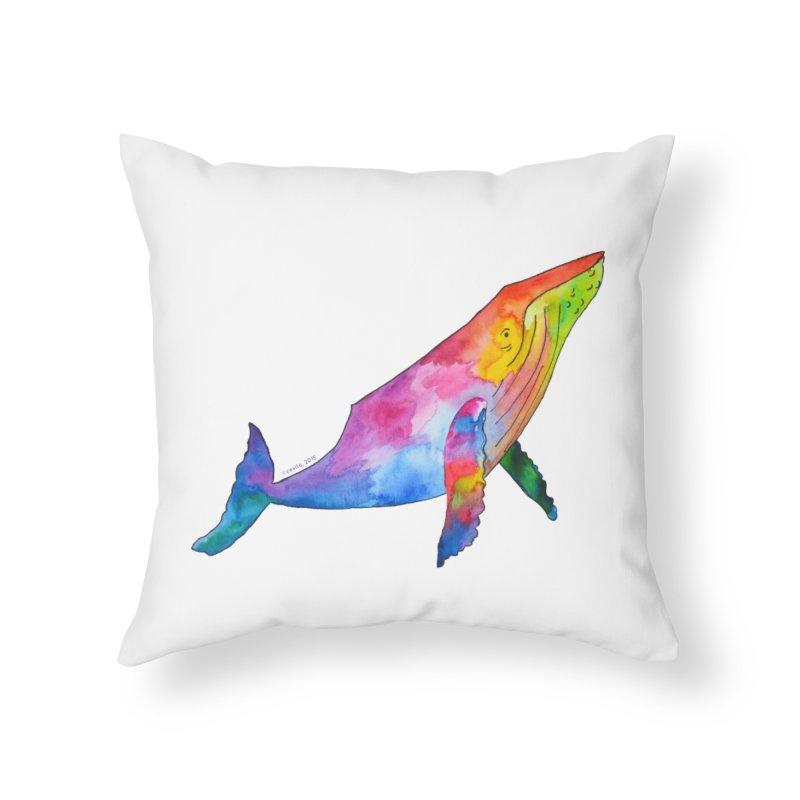 Wonder Home Throw Pillow by Monera