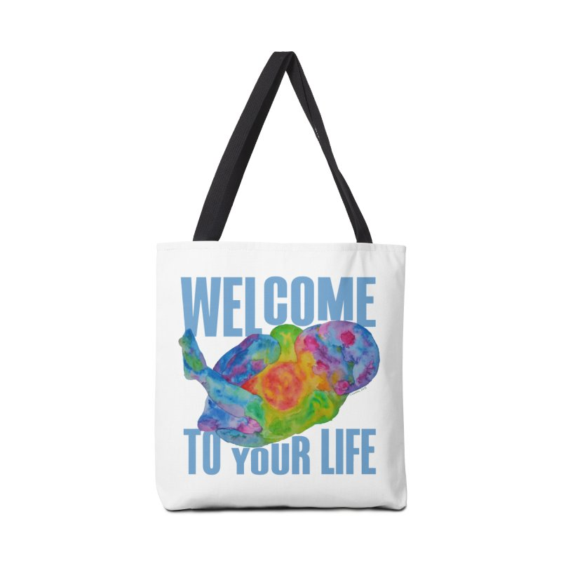 welcome to your life Accessories Bag by Monera