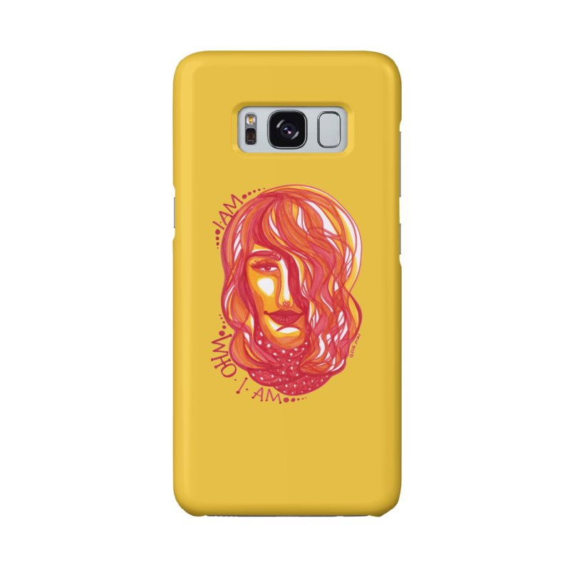 Who I am Accessories Phone Case by Monera