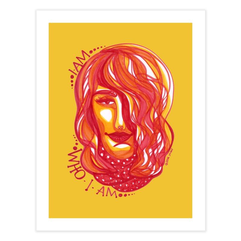 Who I am Home Fine Art Print by Monera