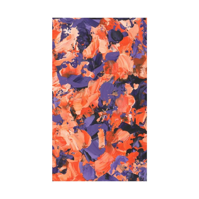 Orange and Purple Abstract by Monica Shriver's Artist Shop