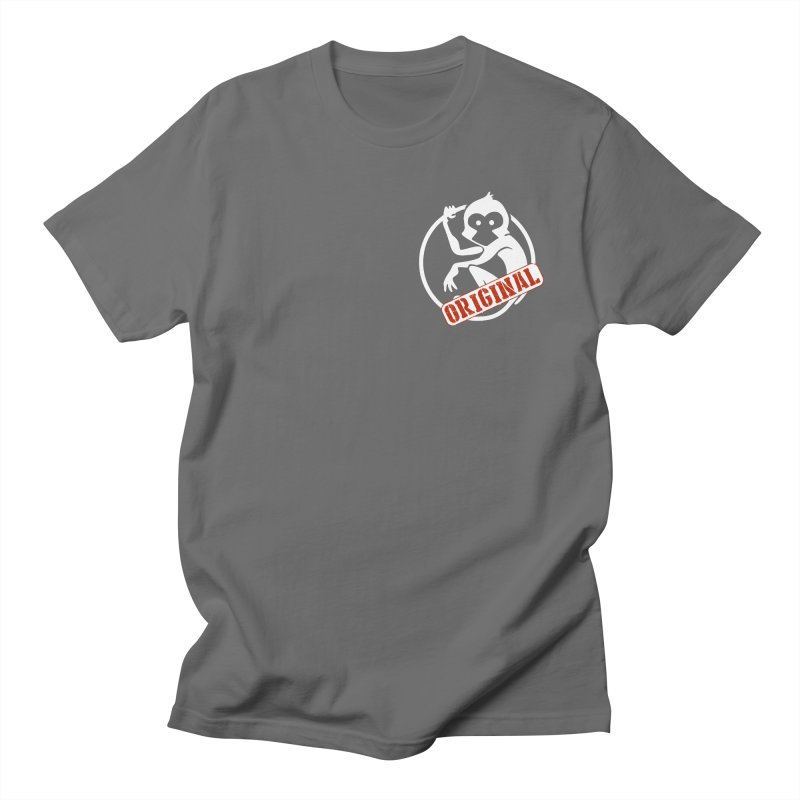 Monkey Original Small Logo Men's T-Shirt by The m0nk3y Merchandise Store