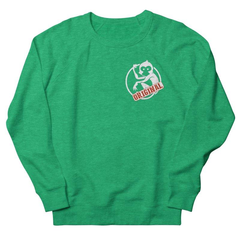 Monkey Original Small Logo Women's Sweatshirt by The m0nk3y Merchandise Store