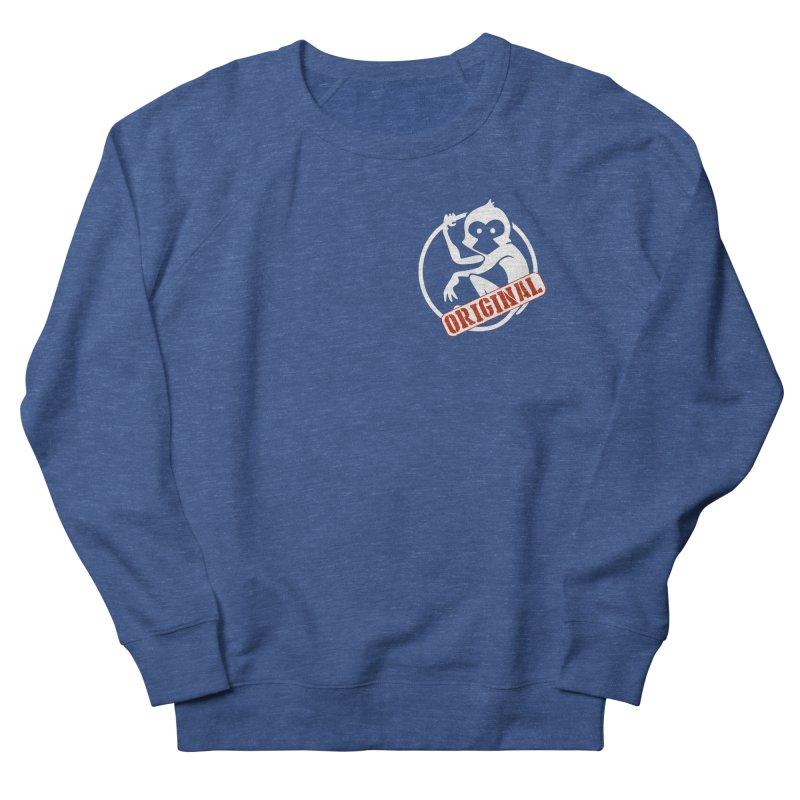 Monkey Original Small Logo Women's French Terry Sweatshirt by The m0nk3y Merchandise Store