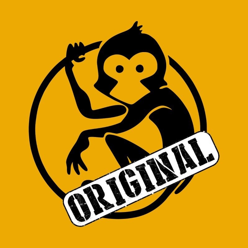 Monkey Original Small Logo None  by The m0nk3y Merchandise Store