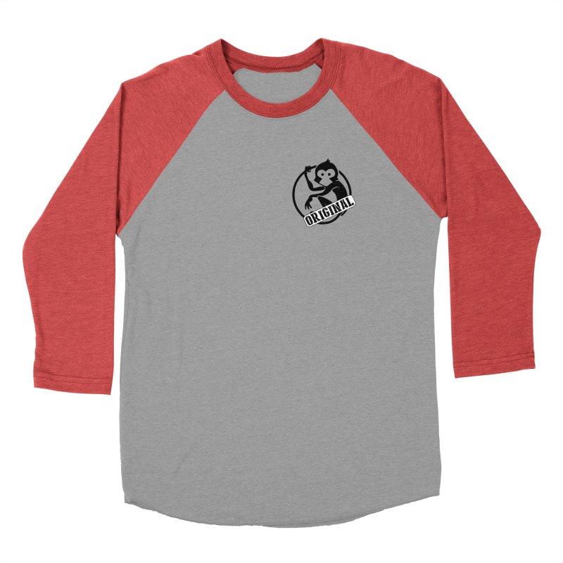 Monkey Original Small Logo Men's Longsleeve T-Shirt by The m0nk3y Merchandise Store