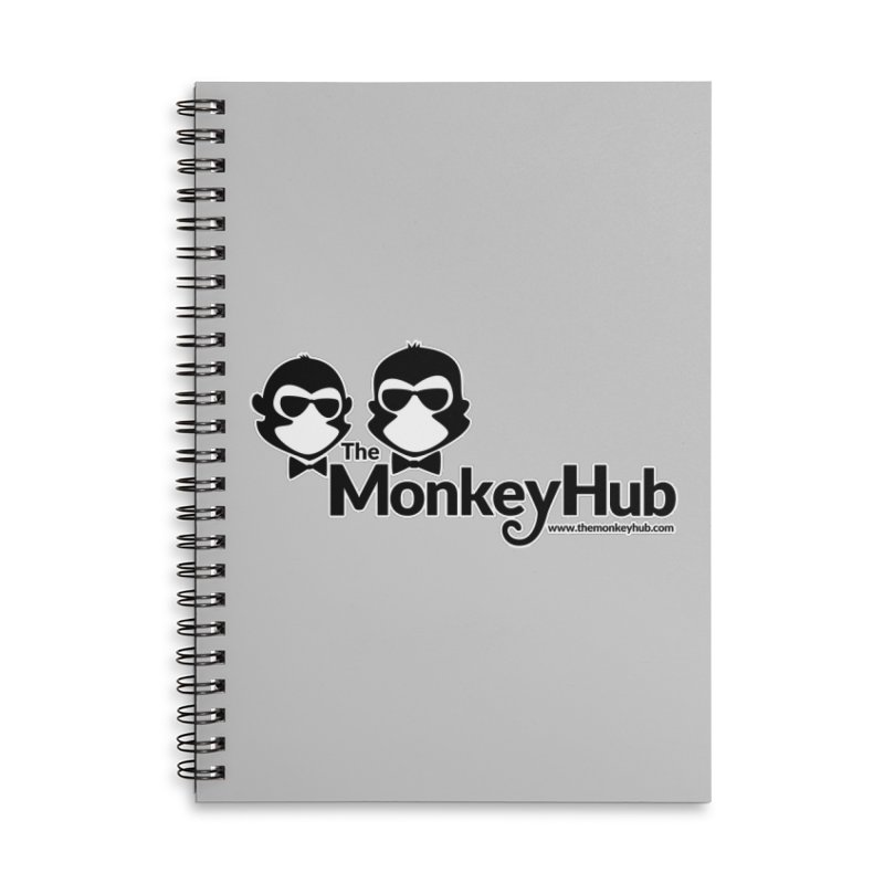 The MonkeyHub Accessories Lined Spiral Notebook by The m0nk3y Merchandise Store