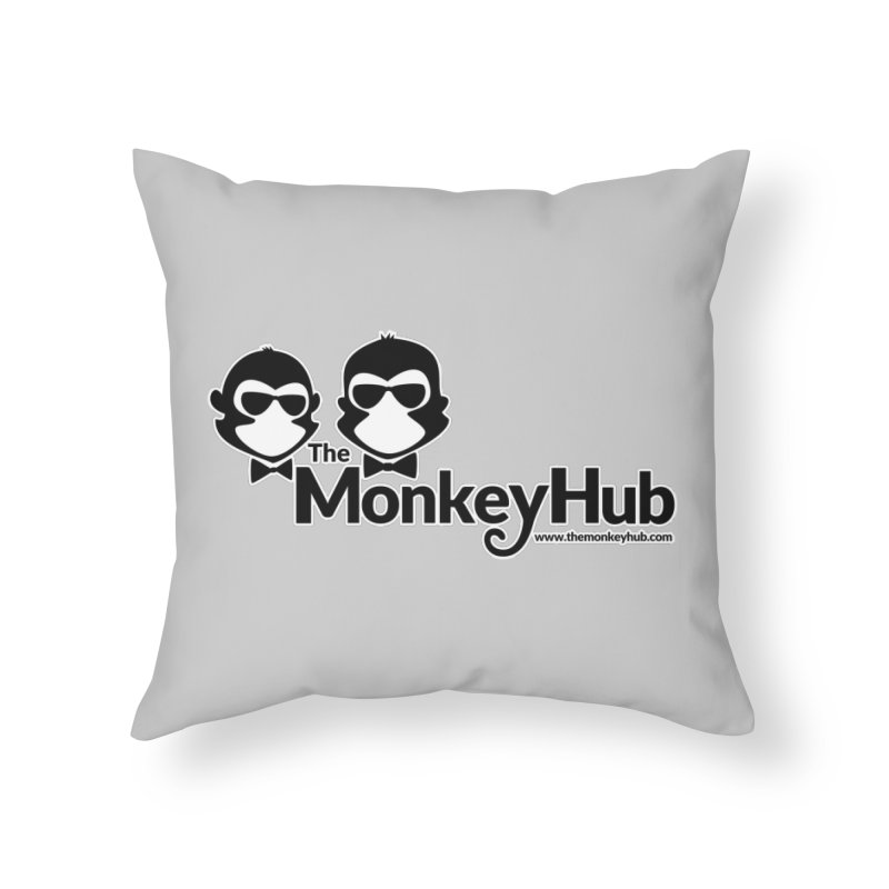 The MonkeyHub Home Throw Pillow by The m0nk3y Merchandise Store