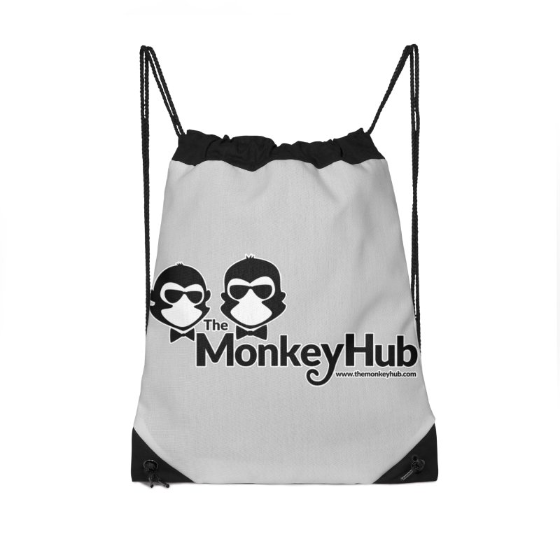 The MonkeyHub Accessories Drawstring Bag Bag by The m0nk3y Merchandise Store