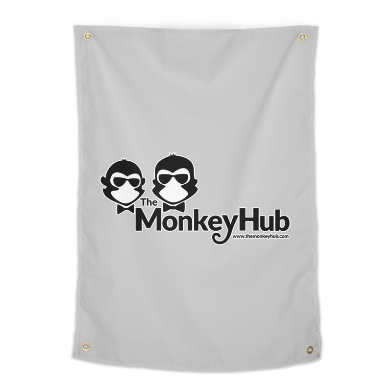 The MonkeyHub Home Tapestry by The m0nk3y Merchandise Store