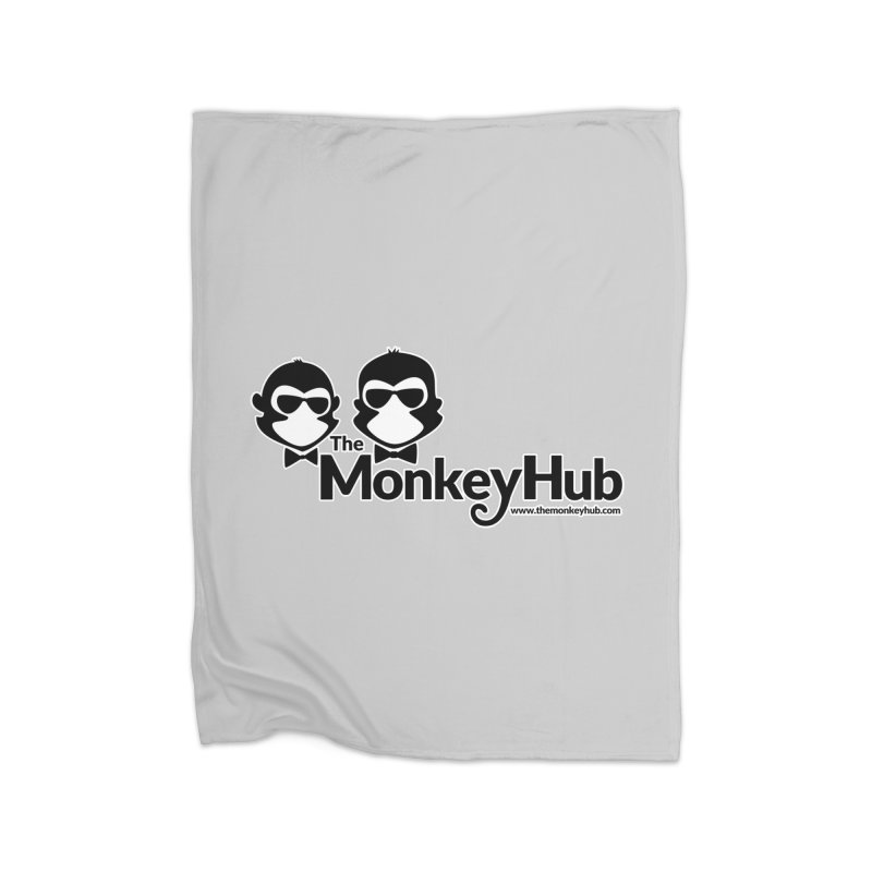The MonkeyHub Home Blanket by The m0nk3y Merchandise Store