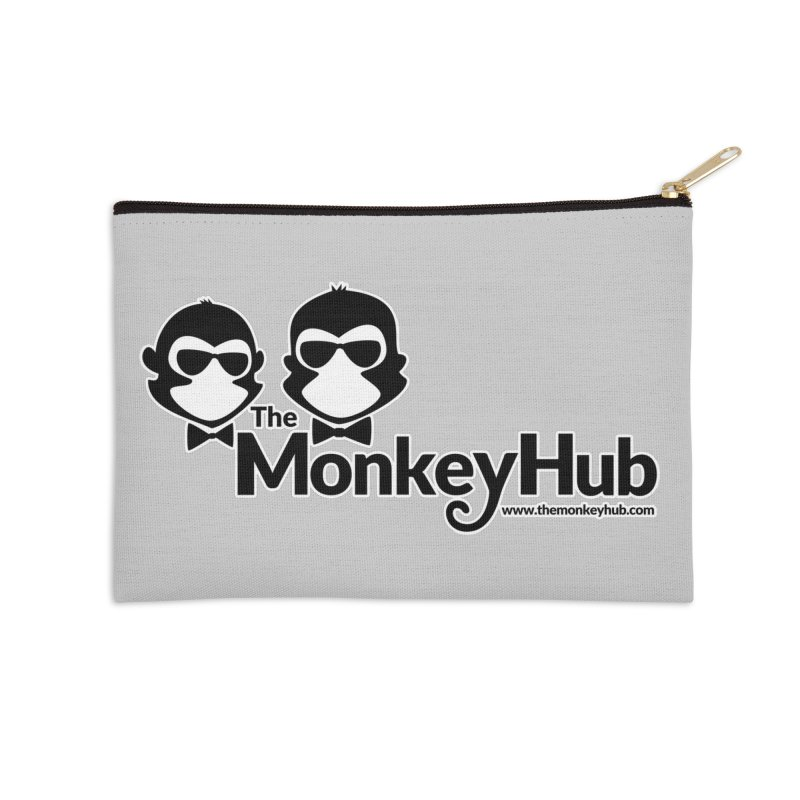 The MonkeyHub Accessories Zip Pouch by The m0nk3y Merchandise Store