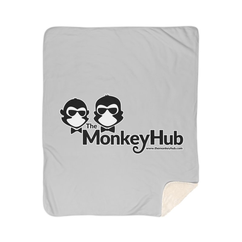 The MonkeyHub Home Sherpa Blanket Blanket by The m0nk3y Merchandise Store