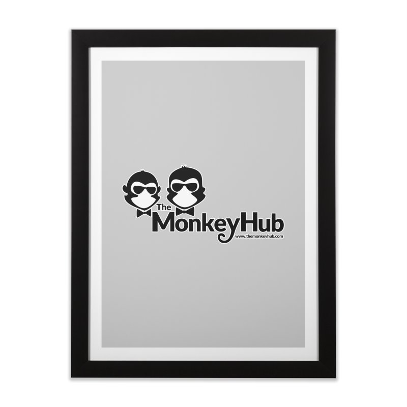 The MonkeyHub Home Framed Fine Art Print by The m0nk3y Merchandise Store