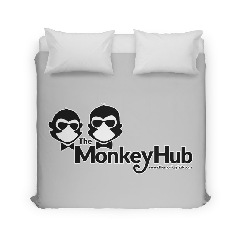 The MonkeyHub Home Duvet by The m0nk3y Merchandise Store