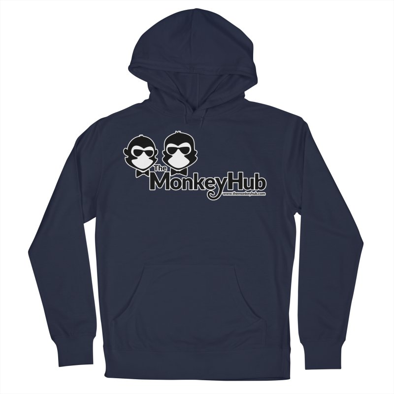 The MonkeyHub Men's French Terry Pullover Hoody by The m0nk3y Merchandise Store