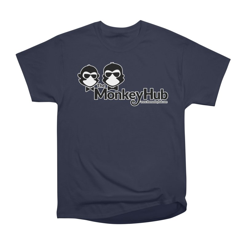 The MonkeyHub Women's Heavyweight Unisex T-Shirt by The m0nk3y Merchandise Store