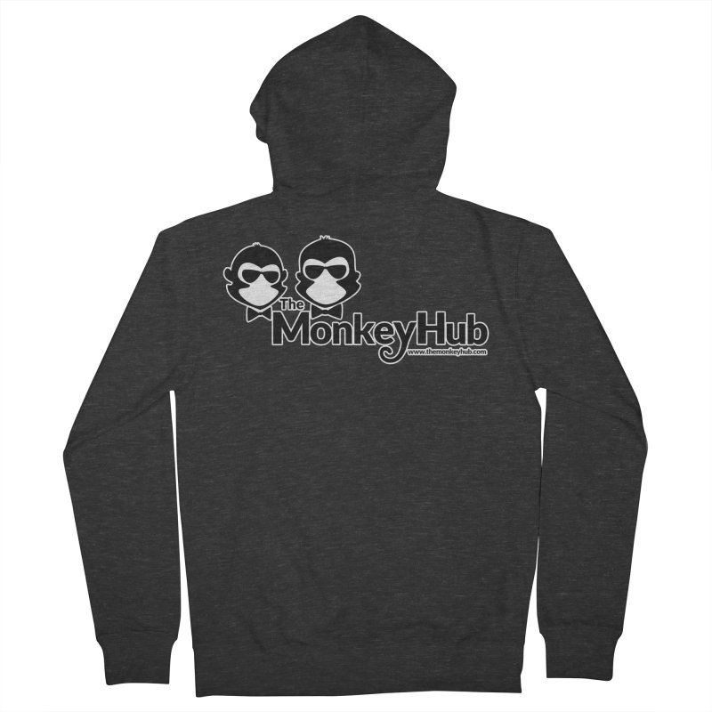 The MonkeyHub Women's French Terry Zip-Up Hoody by The m0nk3y Merchandise Store