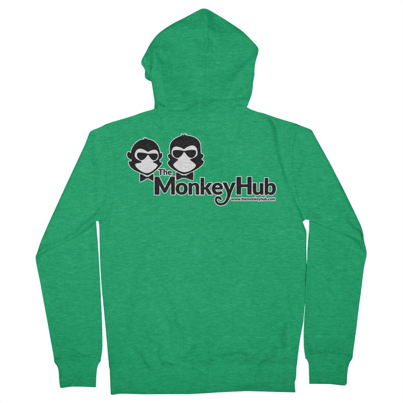 The MonkeyHub Men's Zip-Up Hoody by The m0nk3y Merchandise Store