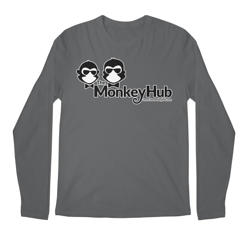 The MonkeyHub Men's Longsleeve T-Shirt by The m0nk3y Merchandise Store