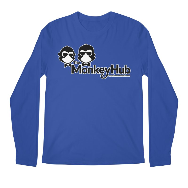 The MonkeyHub Men's Regular Longsleeve T-Shirt by The m0nk3y Merchandise Store